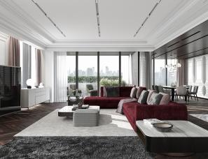IQOSA Architect设计--Modern住宅
