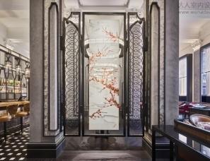 AB Concept新作-伦敦四季酒店Mei Ume餐厅