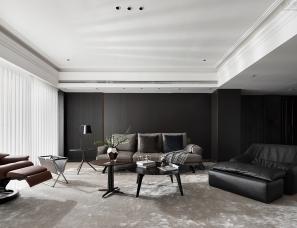 【首发】陈尹周设计--上海华侨城苏河湾330m²私宅