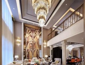 深圳辛视设计--君临天下样板房
