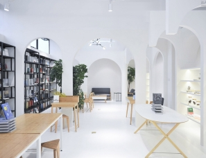 植田建筑室内设计--新华书店 + 良渚良造