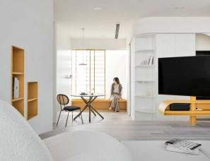 寓子设计--一抹黄,点缀家的色彩