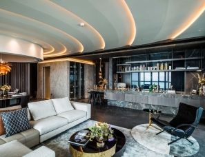 天地设计--北京万科大都会滨江样板房260㎡