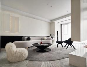 成都艺筑亦美设计--微光·生活一直被照亮 260㎡私宅