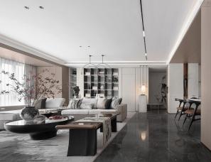 太谷设计--中粮·哈尔滨 双城锦云世家样板间
