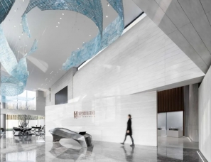VGC韦高成设计--中梁新力宽泰铂园售楼处