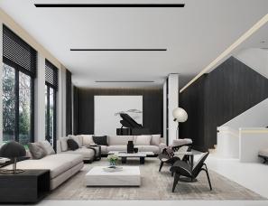 上海亦鉴设计--黑与白 | 生命的素颜