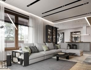 【首发】DE&DE Studio--现代公寓