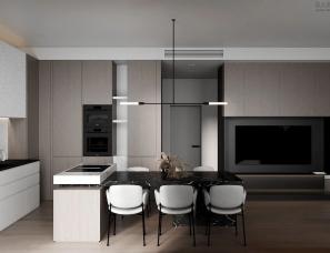 Quadro Room--莫斯科极简的高级质感
