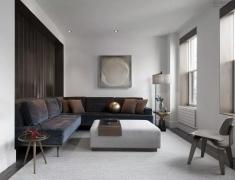 Javier Robles设计--简约高级灰住宅