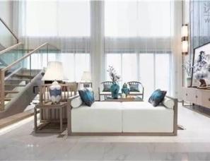广州市联智造营装饰设计--弈•趣-嘉华广场复式样板房
