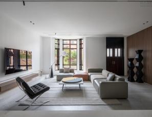 杭州MH设计--乌托邦世界 450㎡+建筑师的极简私宅