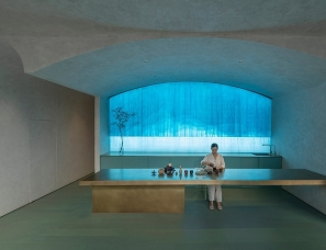 Waterfrom Design--Tiffany蓝+高级灰打造的水疗保健诊所