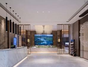 AOD设计--重庆蔡家金科博翠山售楼处