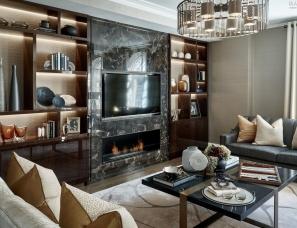 Laura Hammett设计--Knightsbridge Apartment