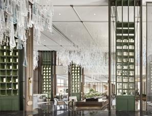 深圳大森设计--天祺集团天水佳•朗园营销中心