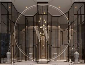 无间设计吴滨作品--宁波财富中心-大堂
