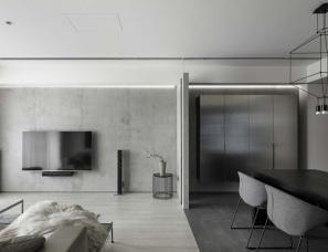 工一设计--台式暗色系私人住宅
