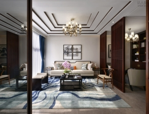 墨客环境艺术设计--联投东方华府公寓样板房