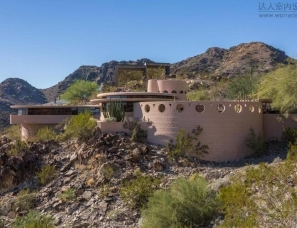 著名建筑师赖特设计的最后一处住宅,恢弘大气不失神秘感