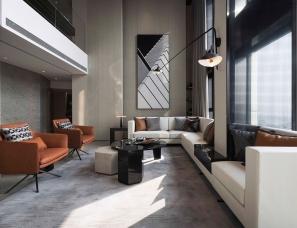 上海恩威设计--天津宁泰181样板间