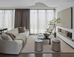 WJID维几设计--绿地靖安明镜湾文旅小镇别墅样板房