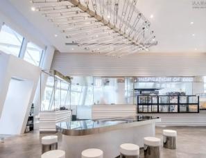 Muland梅蘭設計--喜茶COCOPARK热麦店:脉·浪