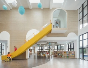 温州云艺装饰设计--洞头区灵昆幼儿园