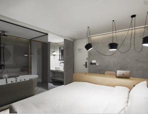 目心设计--上海尖微外滩酒店改造