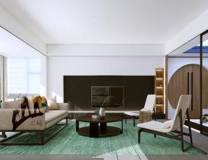朱磊设计  一念静心,在家中安置一处庭院