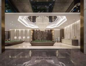 广州柏舍励创设计--中海湖畔嵐庭售樓部