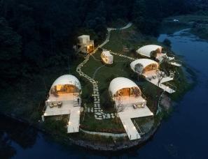季意设计--民谣里野奢帐篷酒店