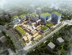 """曲江创意谷商业街区设计再现长安""""长桥卧波、复道行空"""""""