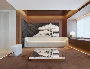 上海黑泡泡设计--中海无锡·寰宇天下二期(D5样板房)
