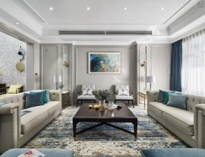 ELEGANT REFINED | 气质灰+蓝 融合美式与现代的优雅轻奢美宅