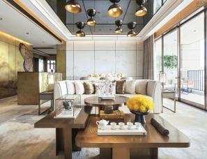 广州杜文彪设计--万科皇马郦宫样板房