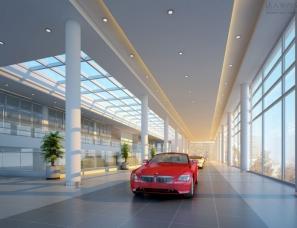 汽车4S店室内设计案例效果图