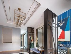 SNP尚诺柏纳设计--佛山保利紫山国际26栋双联别墅600㎡