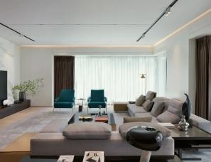 于强室内设计--深圳香蜜湖后花园半山住宅