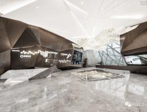 HWCD设计--青岛龙湖光年售楼处