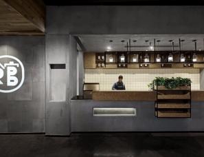 深圳朗联设计--拾光里书吧餐厅