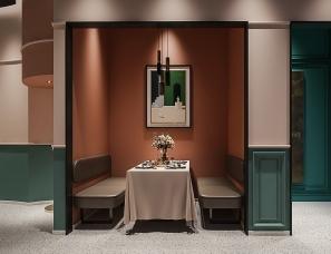 室觉设计--普陀天地 · 一食四季餐厅