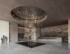 WJID维几设计+千浩设计--万科·森林公园六期售楼处