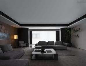 EZAN翼展设计--揭阳顶层小院630㎡私宅