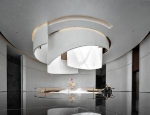 JLa设计--甘肃天水保利时光印象售楼部