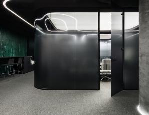 【首发】YODEZEEN Architects--IQ office interior