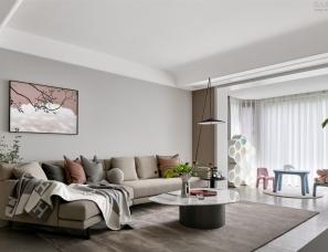 尚舍设计   神仙树大院 以爱筑造有童趣的120㎡现代暖屋!