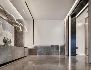 KLID达观国际设计--重庆悦溪 · 正荣府售楼处