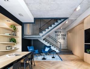 Bureau Fraai--荷兰轻工业风阁楼公寓