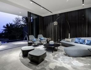 DIA丹健国际设计--融创海南三亚钻石海岸别墅样板房